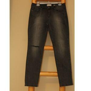 Dark Gray Skinny Jeans
